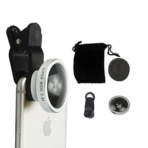 Universal 0.4X Super Wide Angle Mobile Phone Lens for Mobile Phones - 5