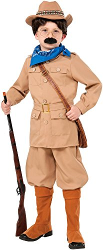 Forum Novelties Theodore Roosevelt Costume, Small -