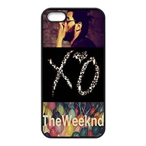 Danny Store 2015 New Arrival TPU Rubber Coated Phone Case Cover for iPhone 5 / 5S - The Weeknd XO