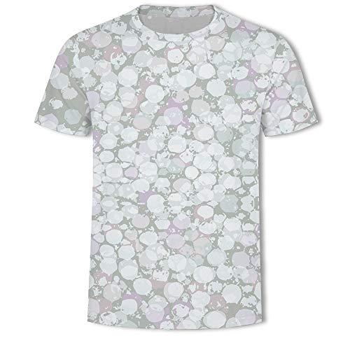 MADEYU Personality 3D Short-Sleeved Digital Print Shirt T-Shirt Pullover Short-Sleeved Fashion Men's T-Shirt Shirt, XXL