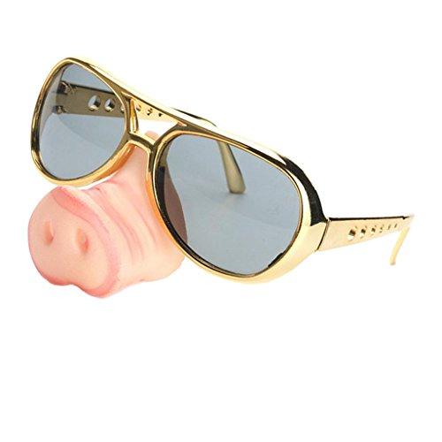 Diversión Homyl Cerdo Divertido Nariz de de Sol Novia Entretenimiento Equipo Gafas Bachelorette Diseño rY1n18t
