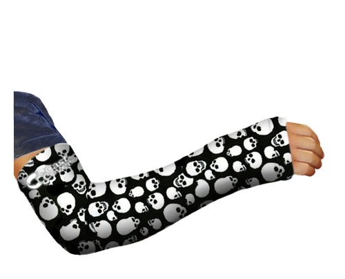 The Cast Cover - Long Arm - Skulls (Adult L/XL L:21.5in-24.5in C:14.5in-17.5in)