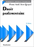 img - for Droit parlementaire (Pre cis Domat) (French Edition) book / textbook / text book