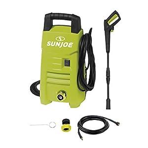 Sun Joe SPX200E 1350 Max Psi 1.45 Gpm 10-Amp Electric Pressure Washer, Green