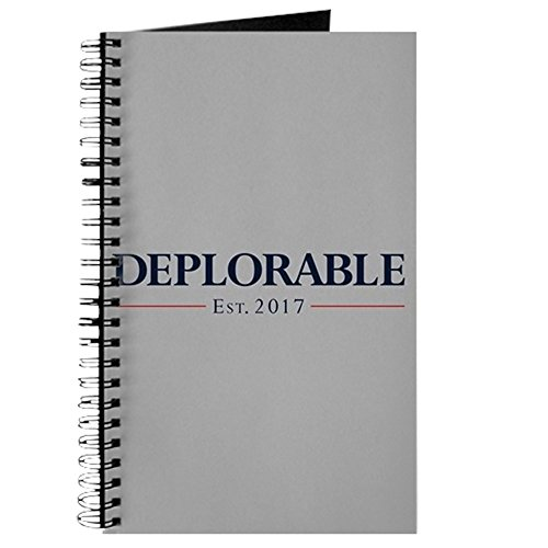 CafePress - Deplorable Est 2017 - Spiral Bound Journal Notebook, Personal Diary, Task Journal ()