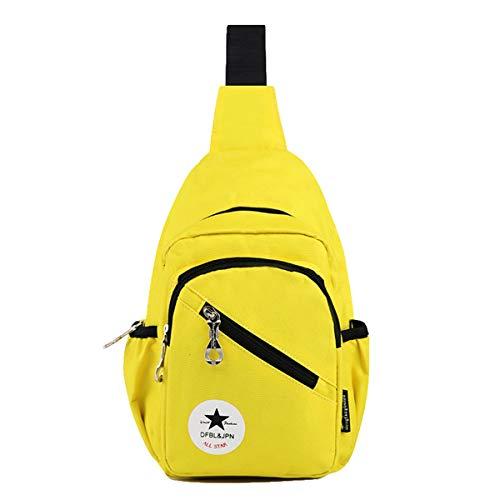 Outdoor Bag Skitor Casual Impermeabile Giallo Petto Multifunzione Borsa Monospalla Mini Sling Tracolla Zaino Sport Uomo Ciclismo Per Oxford A Moda Il Spalla Semplice Viaggio 1rrfqx5E