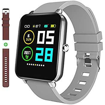 Amazon.com: Smart Watch 2019 versión de natación impermeable ...