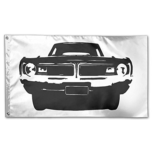 Homlife 59 X 35 Inch Garden Flag Ink Painting Car Decorative