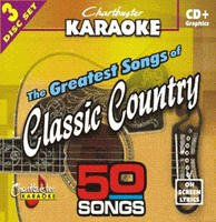 Karaoke: Greatest Songs of Classic Country by Chartbuster