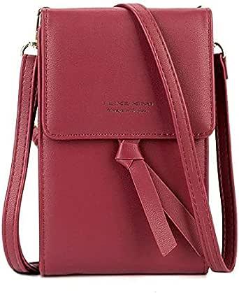 M&p Bag For Girls,Dark Red - Shoulder Bags