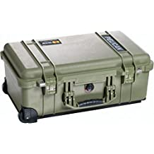 Pelican Products 1510-007-130 Medium Studio Case, 1510LOC with Padded Dividers (OD Green)