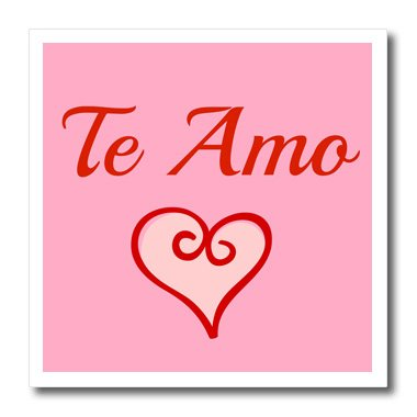 Amazon 40dRose Xander Inspirational Quotes Te Amo I Love You Gorgeous Te Amo Quotes