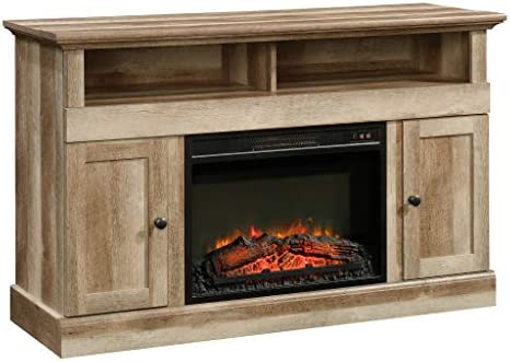 Sauder Cannery Bridge Media Fireplace, for TVs up to 60 , Lintel Oak finish