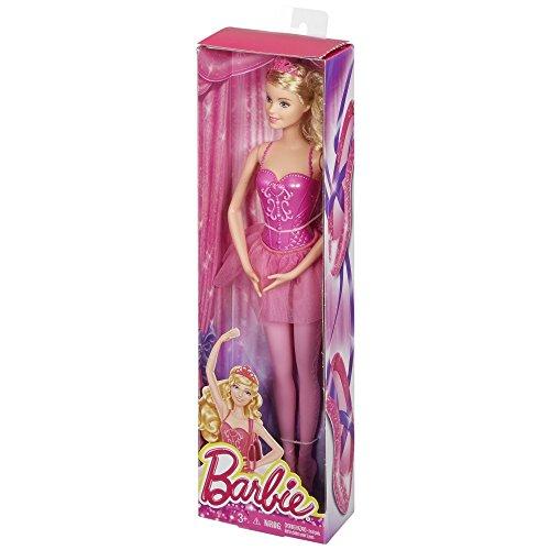 Barbie Fairytale Ballerina Doll, Pink ()
