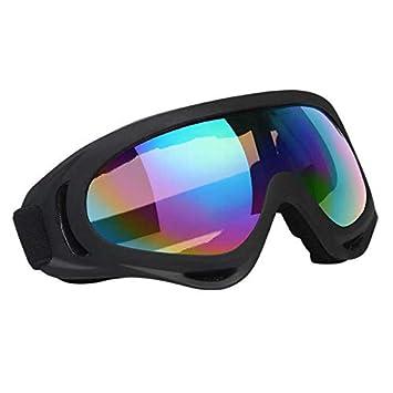 d1d15a2e70 Vicloon Gafas de Nieve a Prueba de Viento UV400 Ciclismo Moto Snowmobile  Ski Goggles Eyewear Deportes Gafas de Seguridad de protección: Amazon.es:  Deportes ...