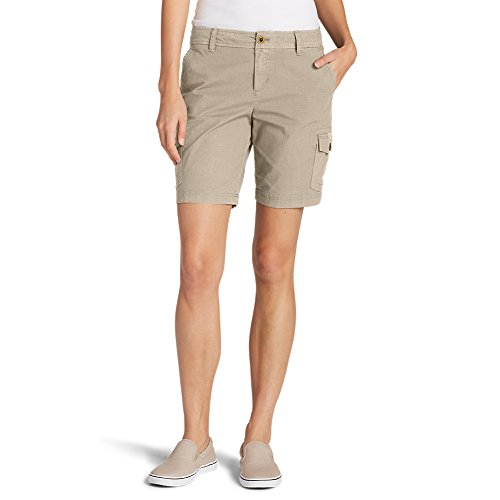 Eddie Bauer Womens Short (Eddie Bauer Women's Adventurer Stretch Ripstop Cargo Shorts - Slightly Curvy, O)