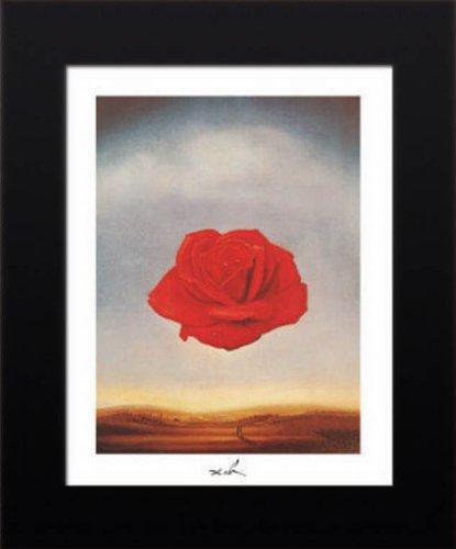 11x14 FRAMED Salvador Dali Meditative Rose Art Poster Print - Dali Meditative Rose