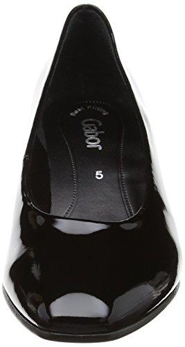 Gabor de para Absatz Zapatos schwarz Mujer Negro 77 Tacón Shoes Fashion HFwtfWqHr
