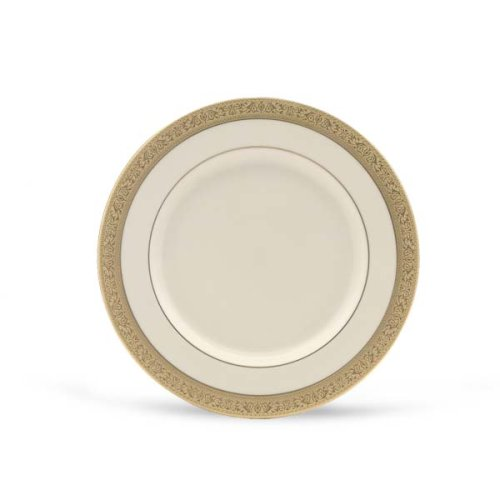 Lenox Westchester Gold Banded Ivory China Butter Plate