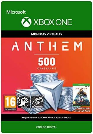 Anthem: 500 Shards Pack 500 Shards Pack | Xbox One - Código de ...