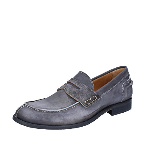 +2 MADE IN ITALY , Mocassins pour homme Gris gris