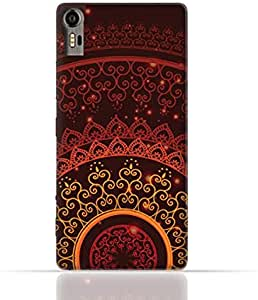 Lenovo Vibe Shot TPU Silicone Case With Colorful Henna Mandala Design