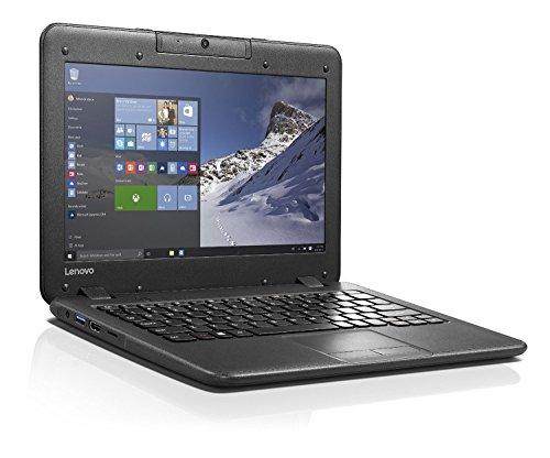 Lenovo N22 11.6-inch High Performance Laptop Notebook (2016 New Premium Edition), Intel Dual-Core Processor 1.60GHz, 4GB RAM, 64GB SSD, Rotatable Webcam, Water-Resistant Keyboard, Windows 10 Pro lenovo N22