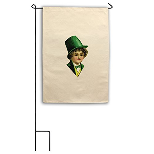 "Style in Print Canvas Yard House Garden Flag 18""X27"" Irish H"