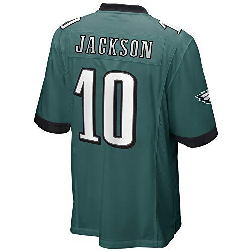 Desean Jackson Youth Jersey - Men's/Women's/Youth_Desean_Jackson_Midnight_Green_Game_Jersey