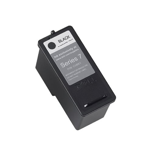 Dell Dh828 Series - Dell DH828 Ink Cartridge - Black - Inkjet - 1 Pack - OEM - DH828