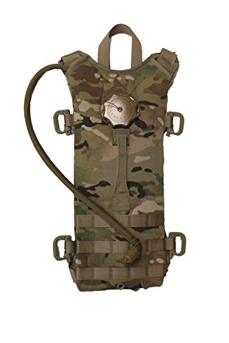 G.I. US Army Multicam MOLLE (100 oz.) Hydration Carrier with SOURCE WXP 3L/100oz Bladder (100 Oz Hydration Carrier)