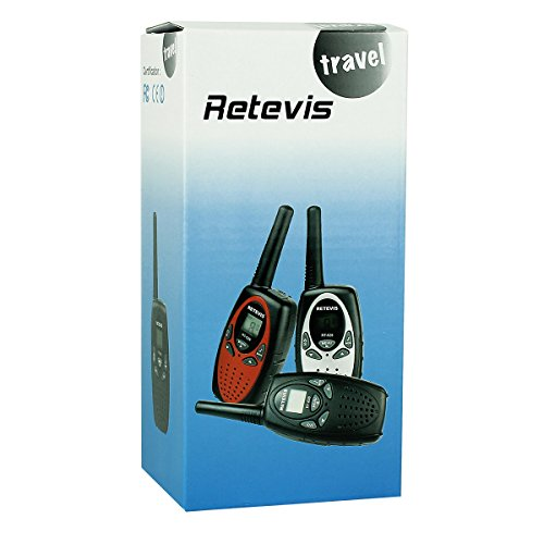 Retevis RT628 Kids Walkie Talkies VOX UHF 462.550-467.7125MHz 22 Channel FRS 2 Way Radio for Kids (1 Pair)