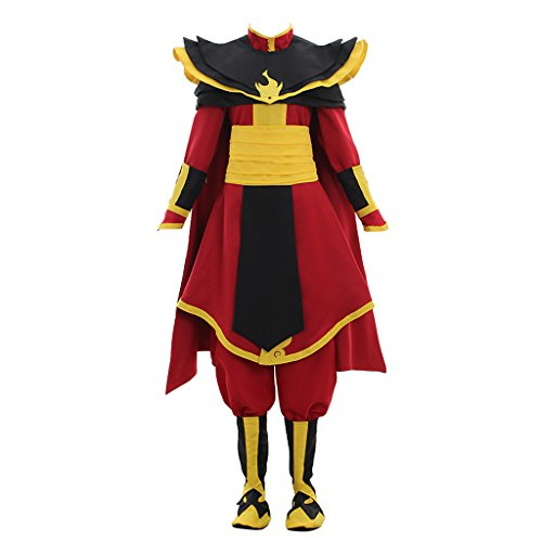 CosplayDiy Men's Suit for Avatar The Last Airbender Cosplay Costume XXXL]()