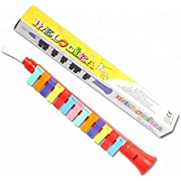 Craft Expertise Mouth Organ Flute/Trumpet Shaped 13 Key Note Melodica Portable Wind Piano Toy for Kids