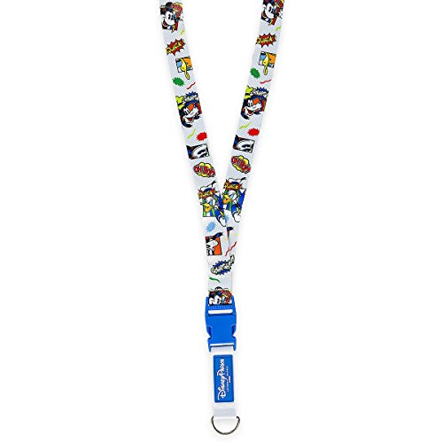 Disney Trading Pin Accessory - Lanyard - Mickey Mouse and Friends Comic Lanyard
