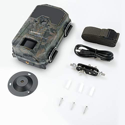 APEMAN Caméra de Chasse 20MP 1080P Caméra de Surveillance 940nm IR LEDs étanchéité IP66 Caméra de gibier à détection de… 5
