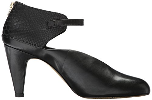 Bella Vita Donna Neve Dress Pump Pelle Nera / Cocco