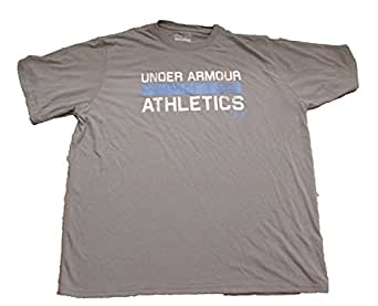 Under Armour Men's Athletics Graphic T-Shirt- Gray/ Large