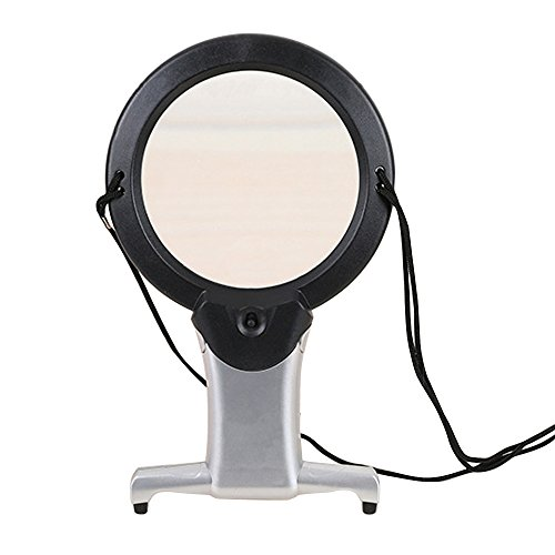 hothuimin Hands Free LED Reading Magnifier Chest Rest Light