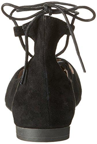 black 24200 Tamaris Noir 004 Femme Ballerines Suede I6BdFBqwx