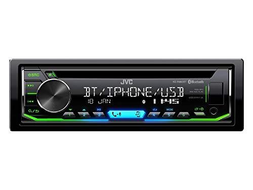 JVC KDR992BT 1-Din Radio CD Bluetooth Spotify Variocolor inkl Einbauset f/ür BMW 3er E46 bis 2005