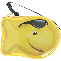 Pepperidge Farm Goldfish Zipper Lunch or Snack Tote (Yellow-Boy Fish)