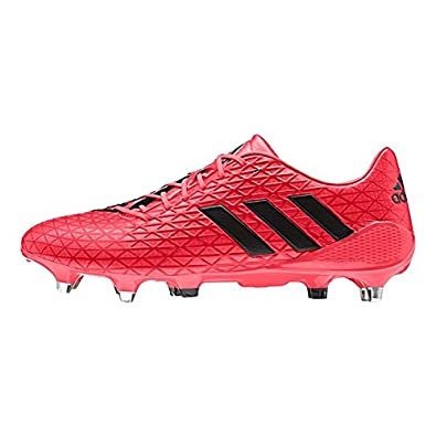 49aca3d74f8f adidas AW16 Predator Malice SG Rugby Boots - Shock Red  Amazon.co.uk  Shoes    Bags