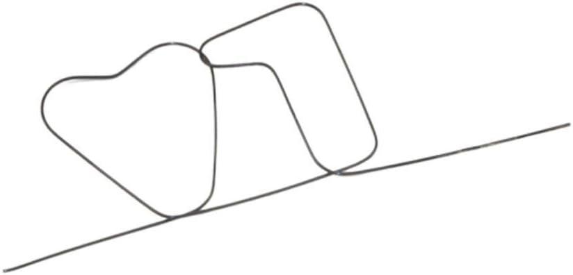 TOYANDONA Trucco Magico Puntello Memoria Ad Alta Temperatura Filo di Ferro Bambini da Vicino Puzzle Giocattolo Festa sul Palco Spettacolo Spettacolo Gadget