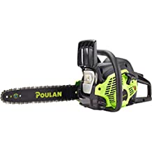 Poulan 14 inches Steel Bar 33CC Gas Chain Saw 2 Cycle , PL3314 (Renewed)