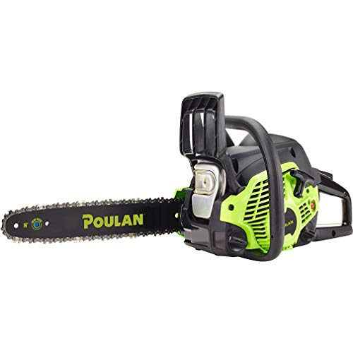 Poulan 14 inches Steel Bar 33CC Gas Chain Saw 2