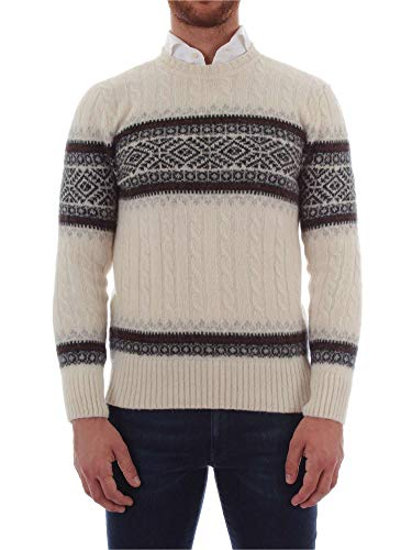 Uomo Woolrich Maglia White Egg Womag1818 UgqYCp