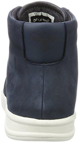 Calabrone Adulto Unisex Hml Stadil In Inverno Alta Alta Sneaker Blu (eclissi Totale)