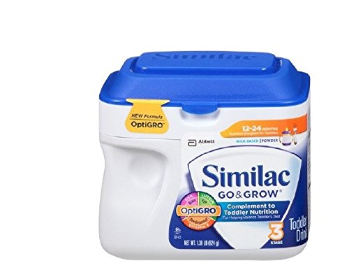 Similac Go & Grow Toddler Drink, Powder 1.38 lb (624 g)