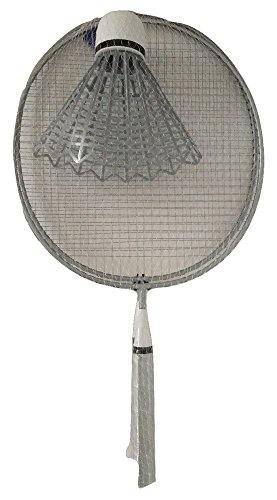 Giant Silver/Gray Badminton Summer Fun Game - Captain Shirt Diy America